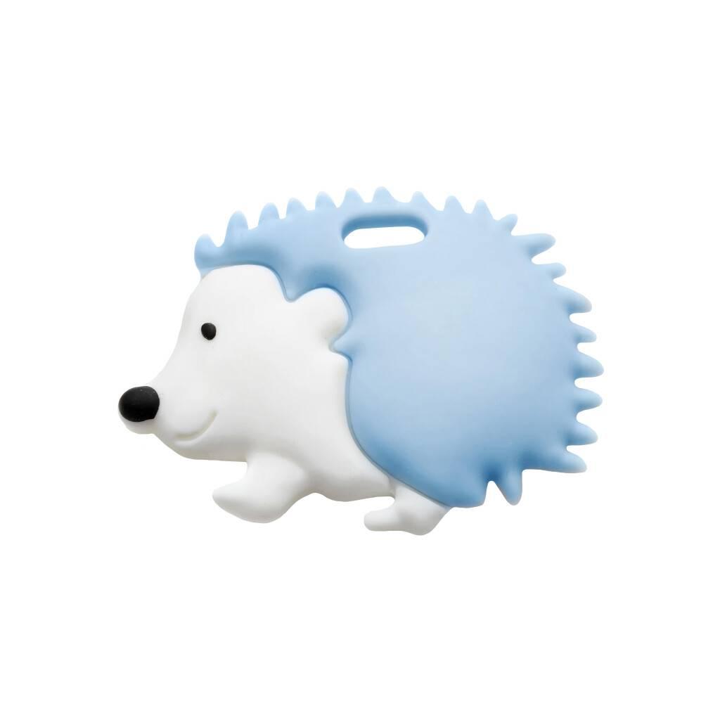 Soft Blue Hedgehog Teether https://glammepet.com