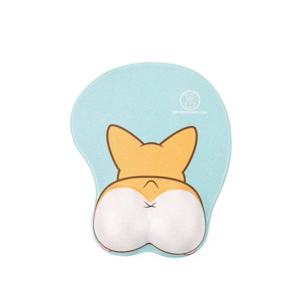Corgi 3D Mouse Pad https://glammepet.com