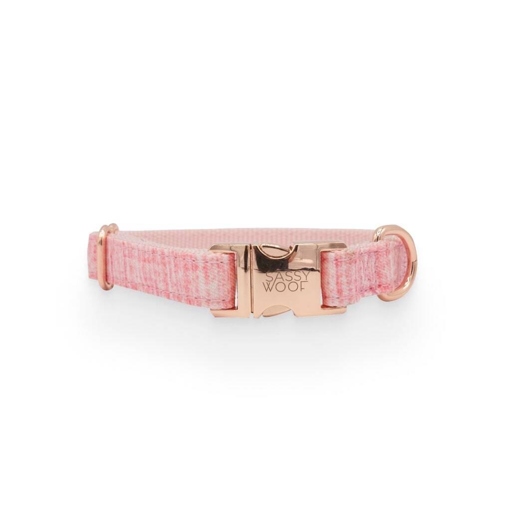 Dolce Rose' Dog Collar https://glammepet.com