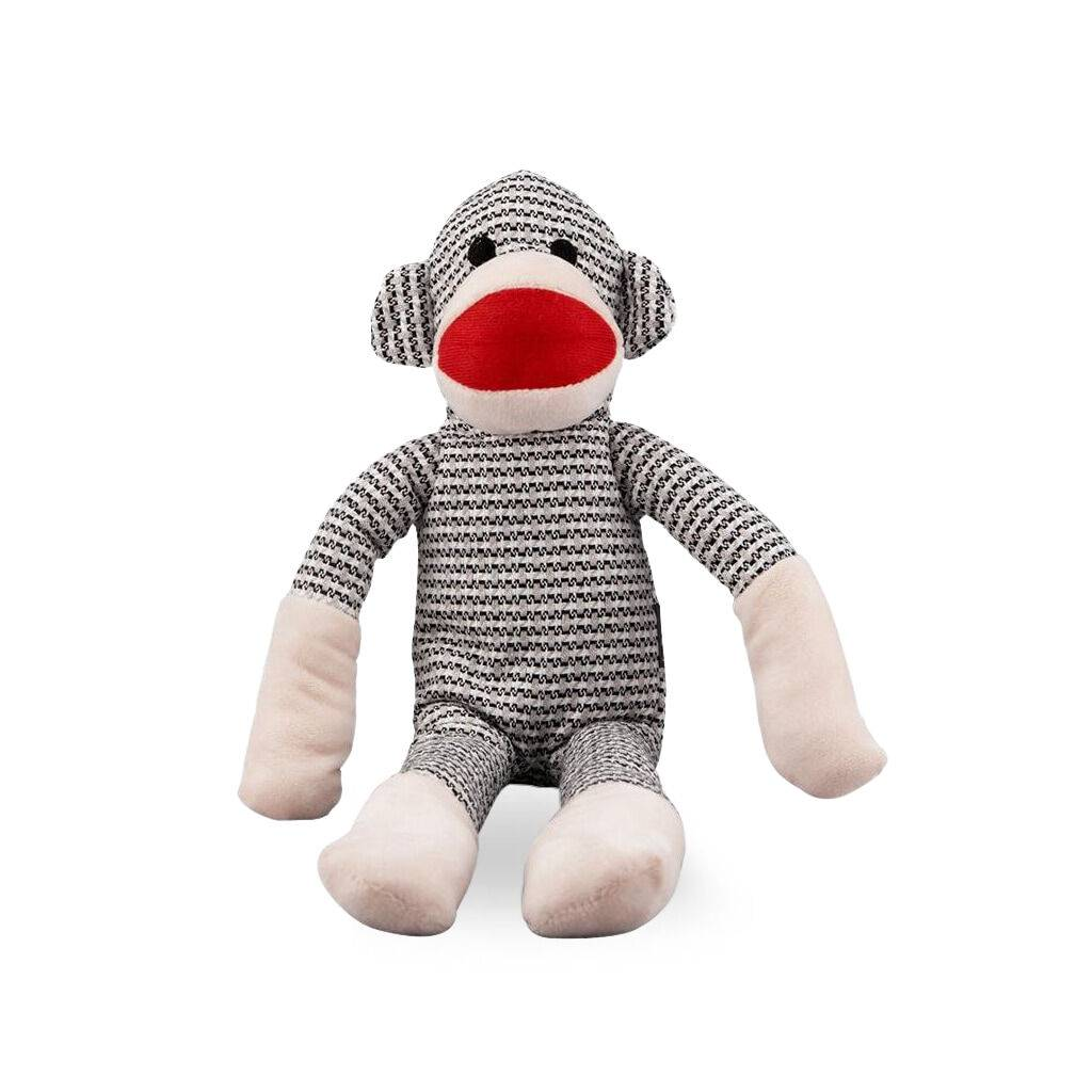 Gray Weave Monkey Dog Toy https://glammepet.com