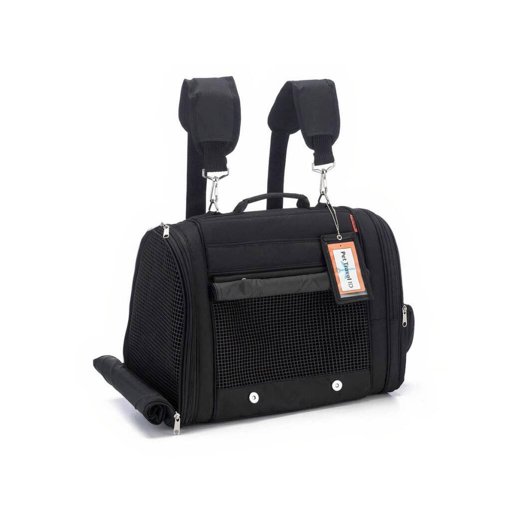 Hideaway Backpack - Black https://glammepet.com