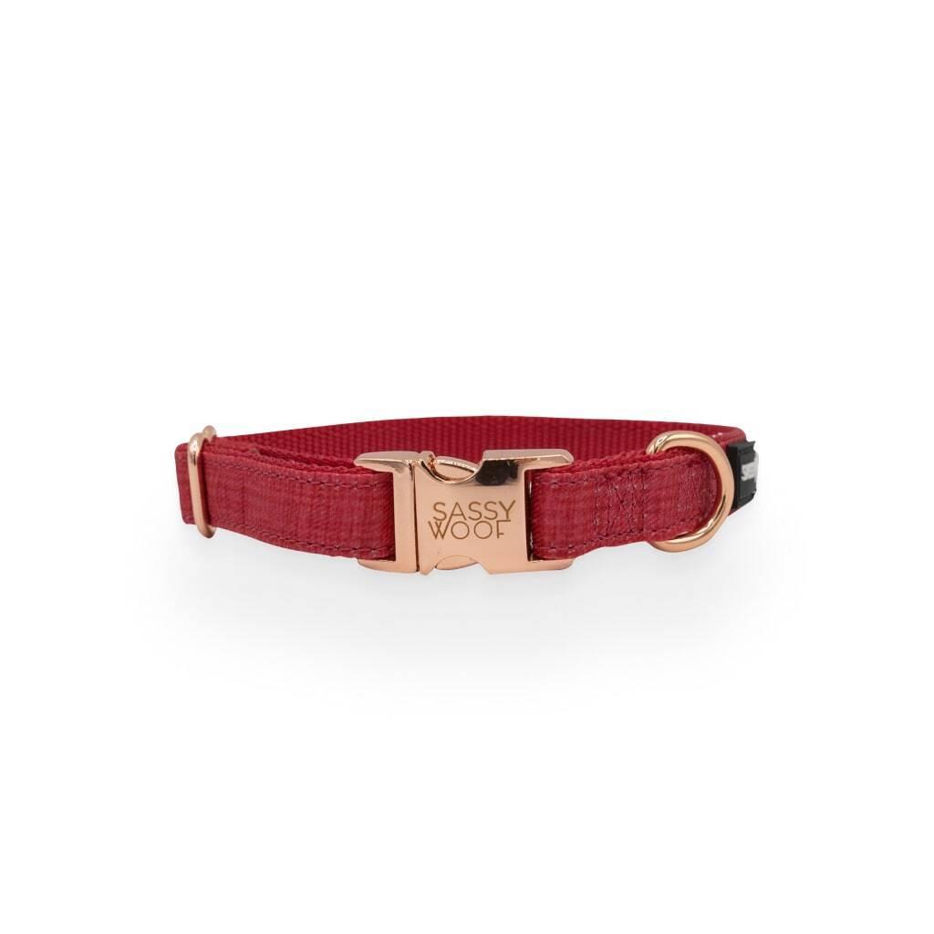Merlot' Dog Collar https://glammepet.com