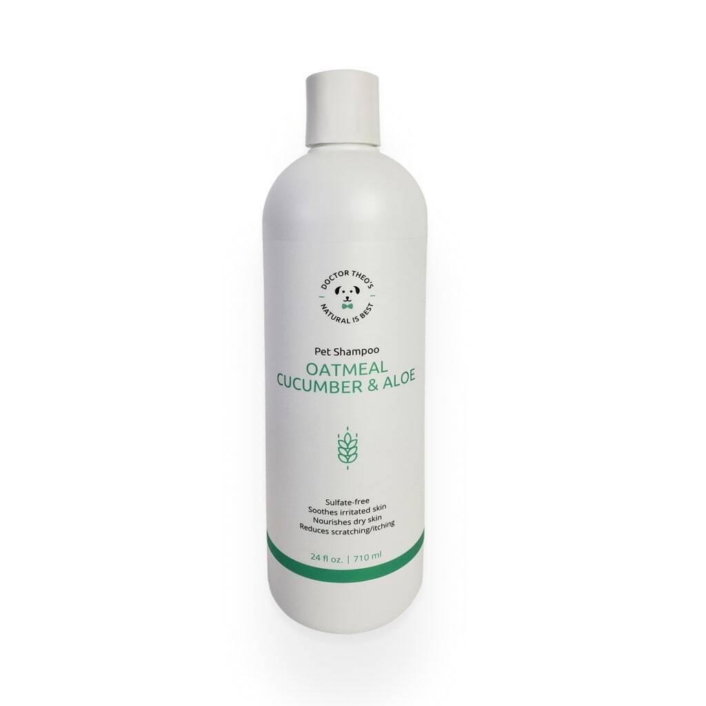 Oatmeal, Cucumber & Aloe Dog Shampoo https://glammepet.com
