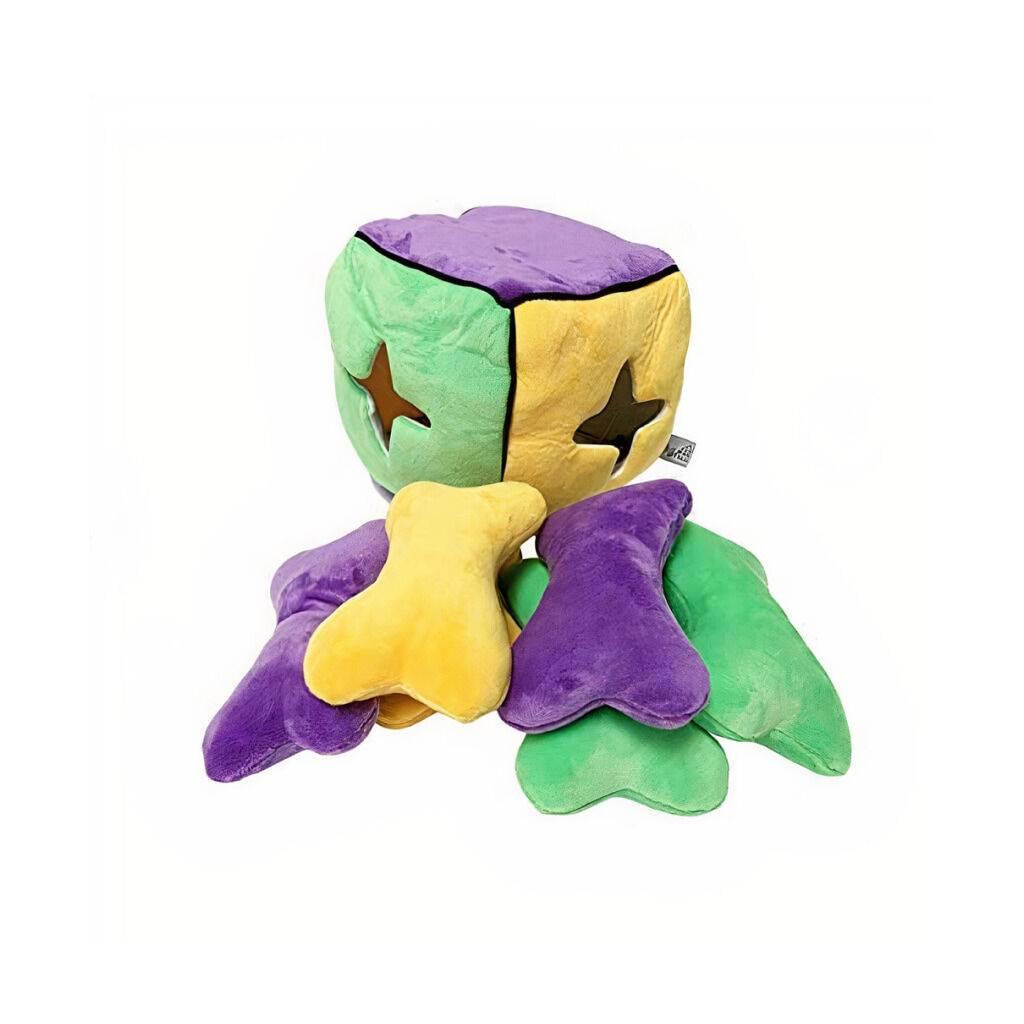 Plush Find a Bone Cube Dog Toy https://glammepet.com