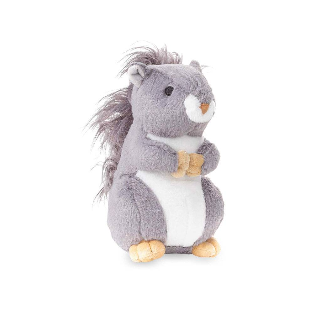 Plush Squirrel Dog Toy https://glammepet.com