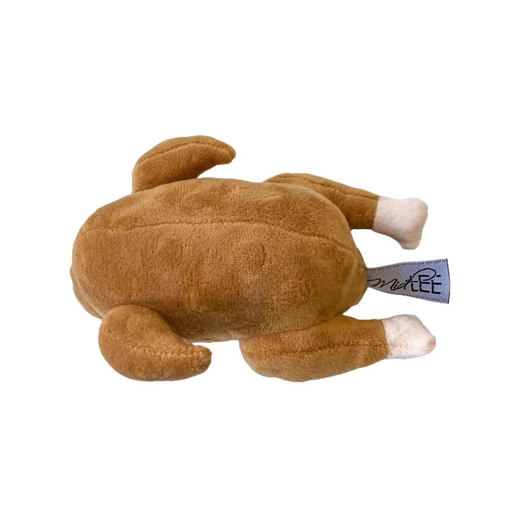 Roasted Thanksgiving Turkey Plush Dog Toy https://glammepet.com