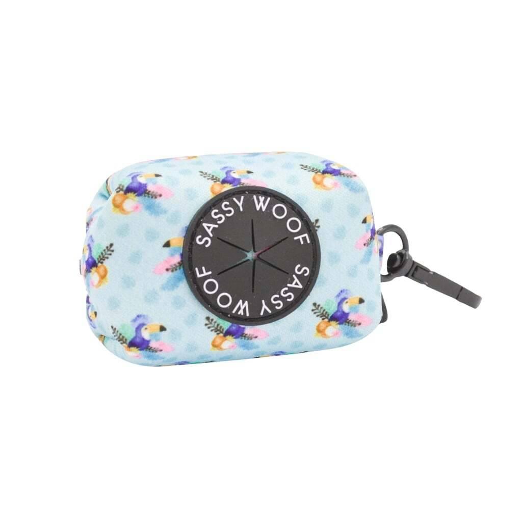 Tropicana' Dog Waste Bag Holder https://glammepet.com