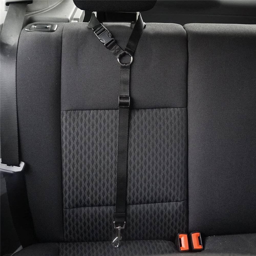 Dog Car Seatbelt Set (2pcs) https://glammepet.com