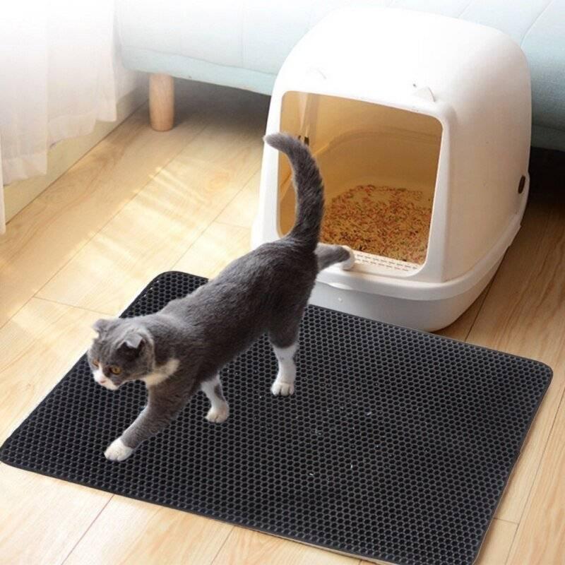 Leakage-Proof Cat Litter Mat https://glammepet.com