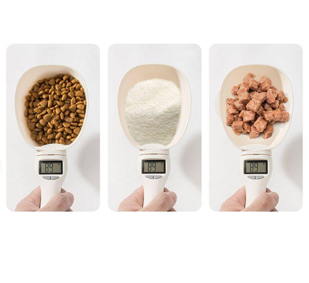 Pet Food Measuring Spoon With LCD Display https://glammepet.com
