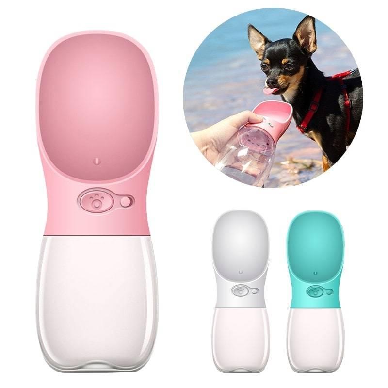 Portable Pet Water Bottle https://glammepet.com