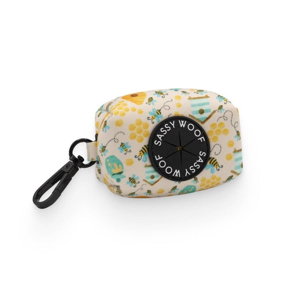 Bee Sassy' Dog Waste Bag Holder https://glammepet.com