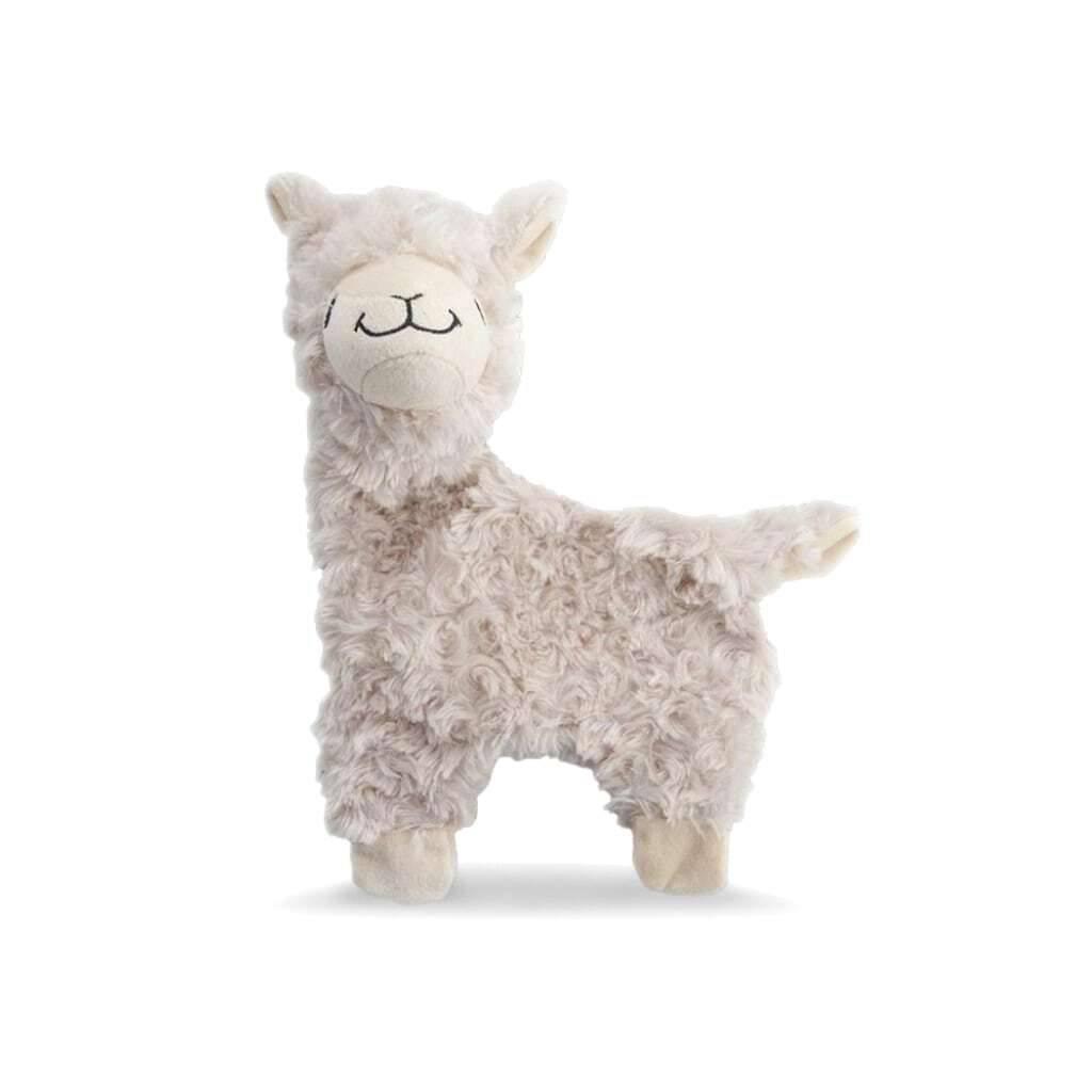 Beige Alpaca Dog Toy https://glammepet.com