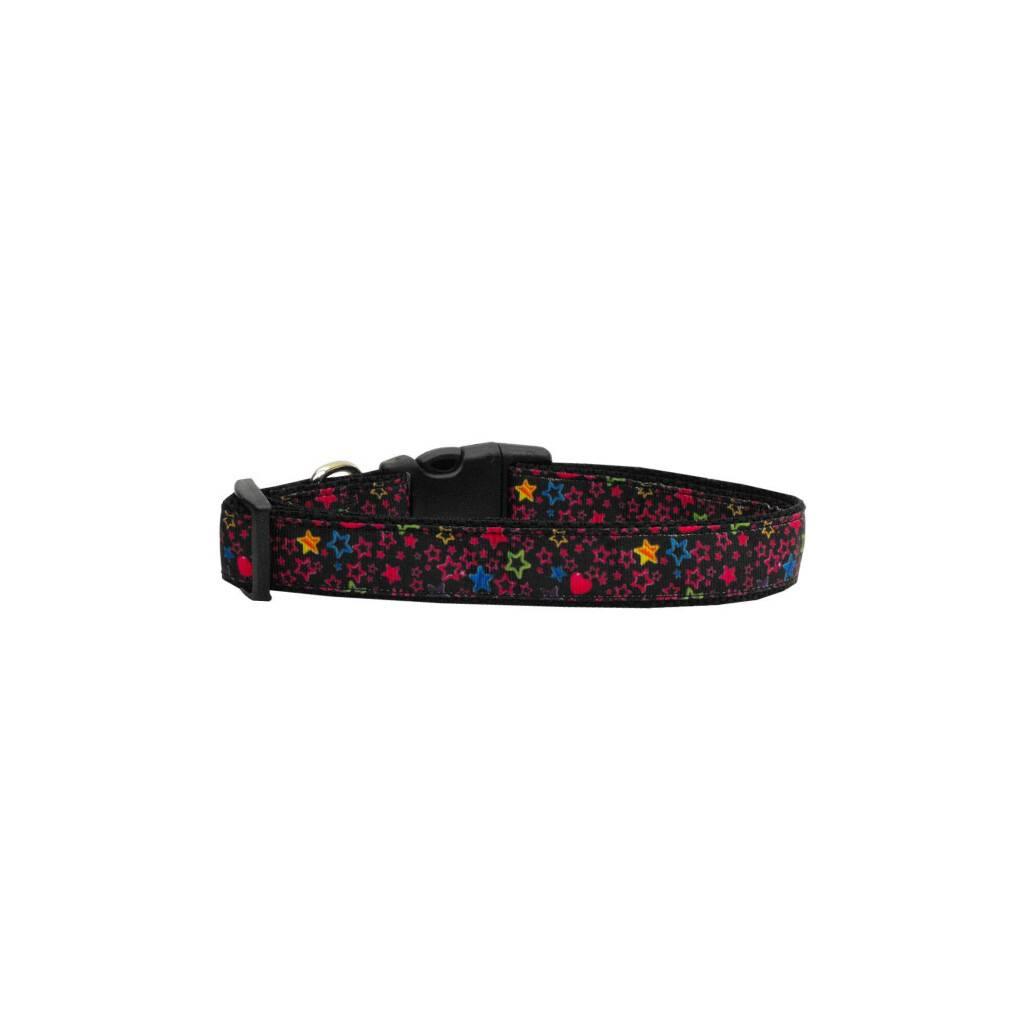 Black Star Nylon Ribbon Collar https://glammepet.com