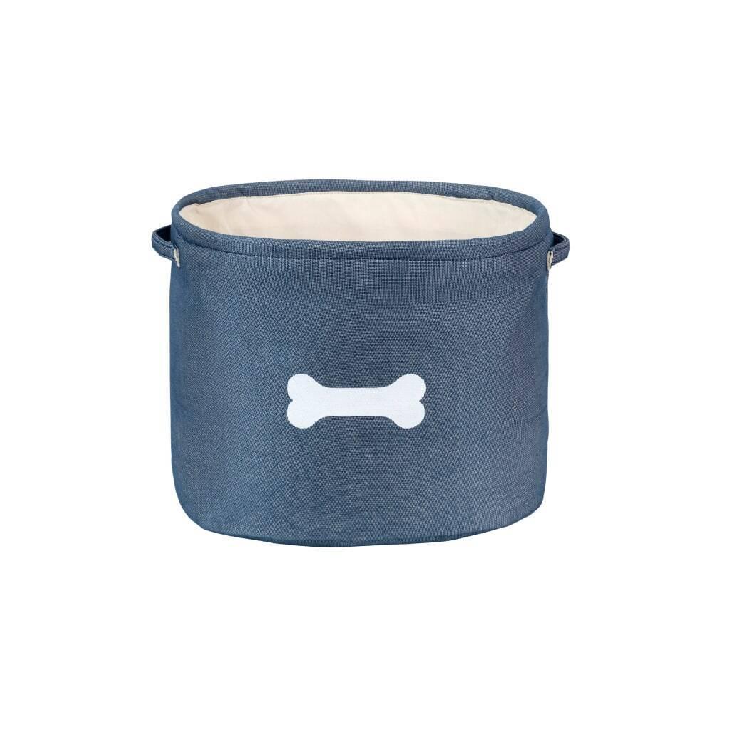 Capri Blue Pet Toy Storage https://glammepet.com