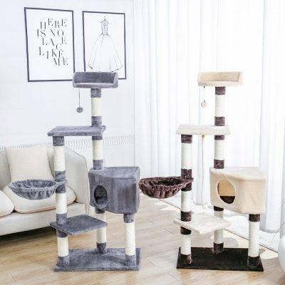 Cat's Plush Tree House https://glammepet.com