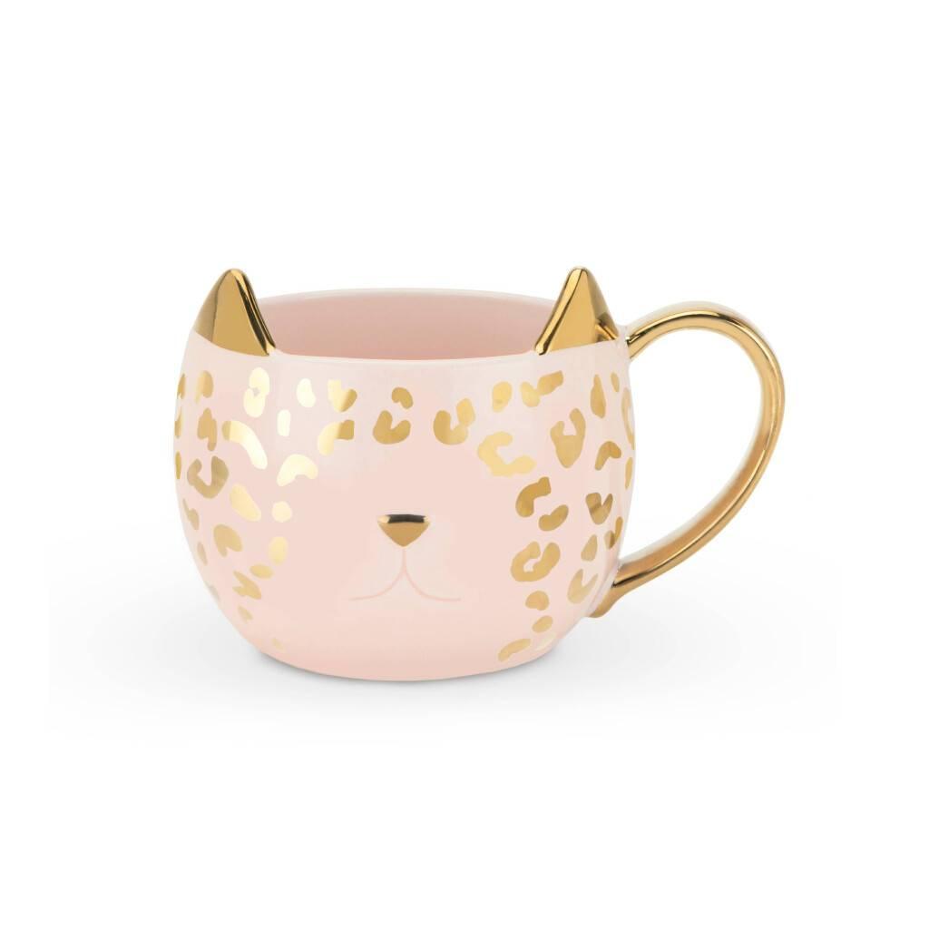 Chloe™ Pink Leopard Mug https://glammepet.com