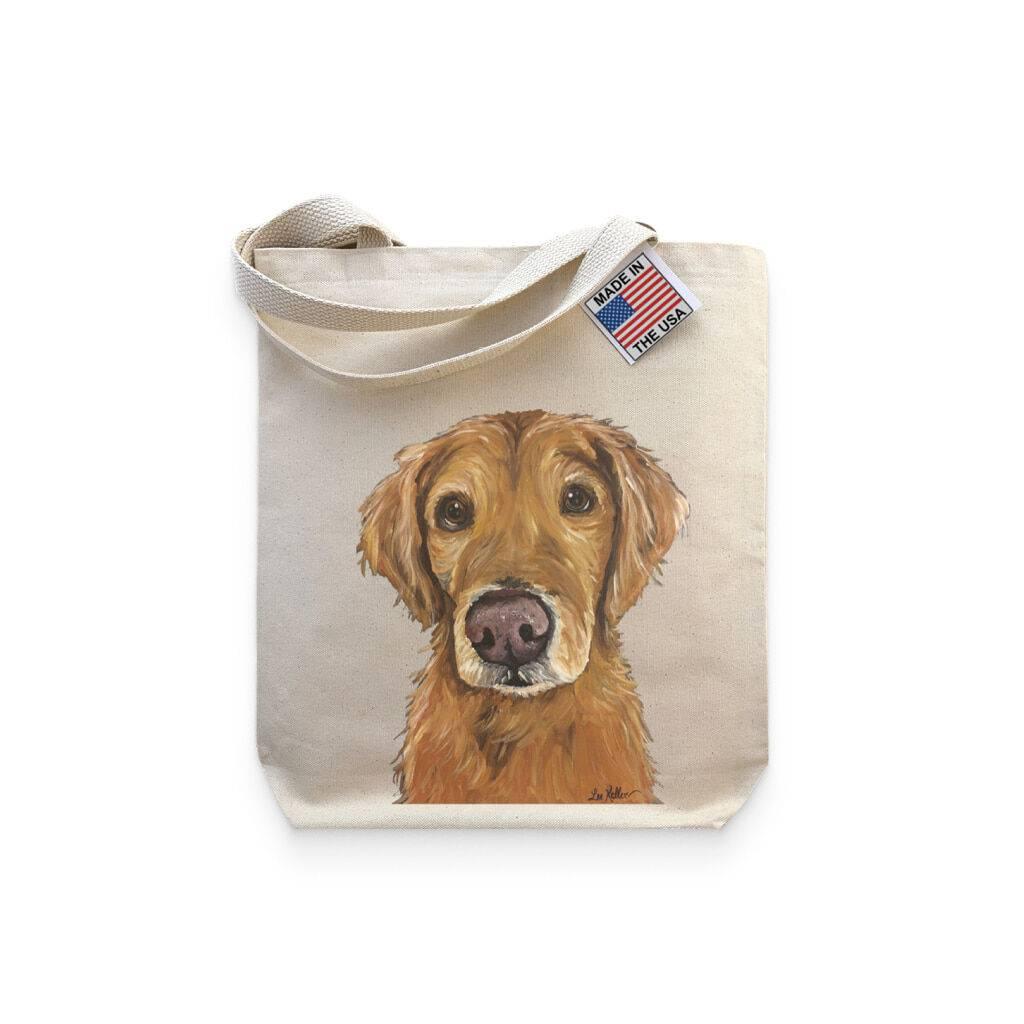 Golden Retriever Lover Tote Bag https://glammepet.com