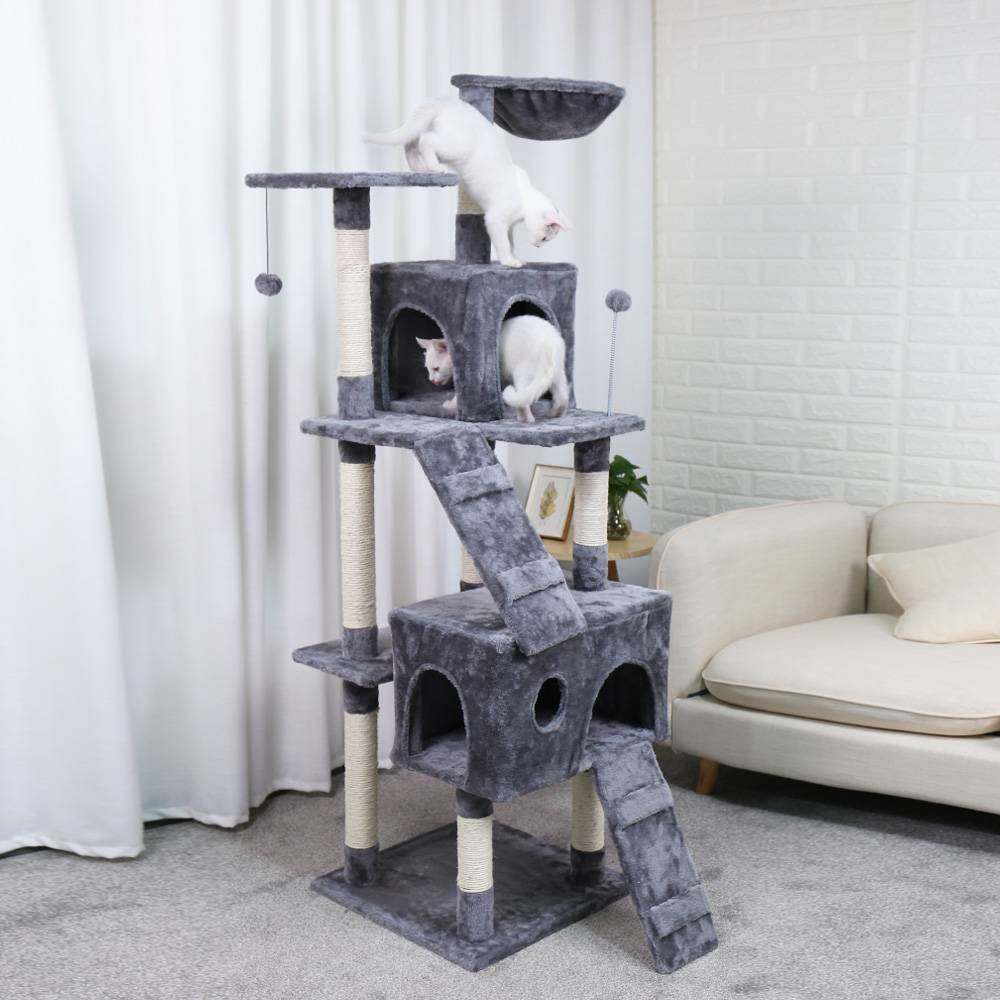 Four Layered Big Houses for Cats https://glammepet.com