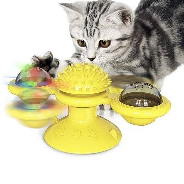 Windmill Cat Toy https://glammepet.com