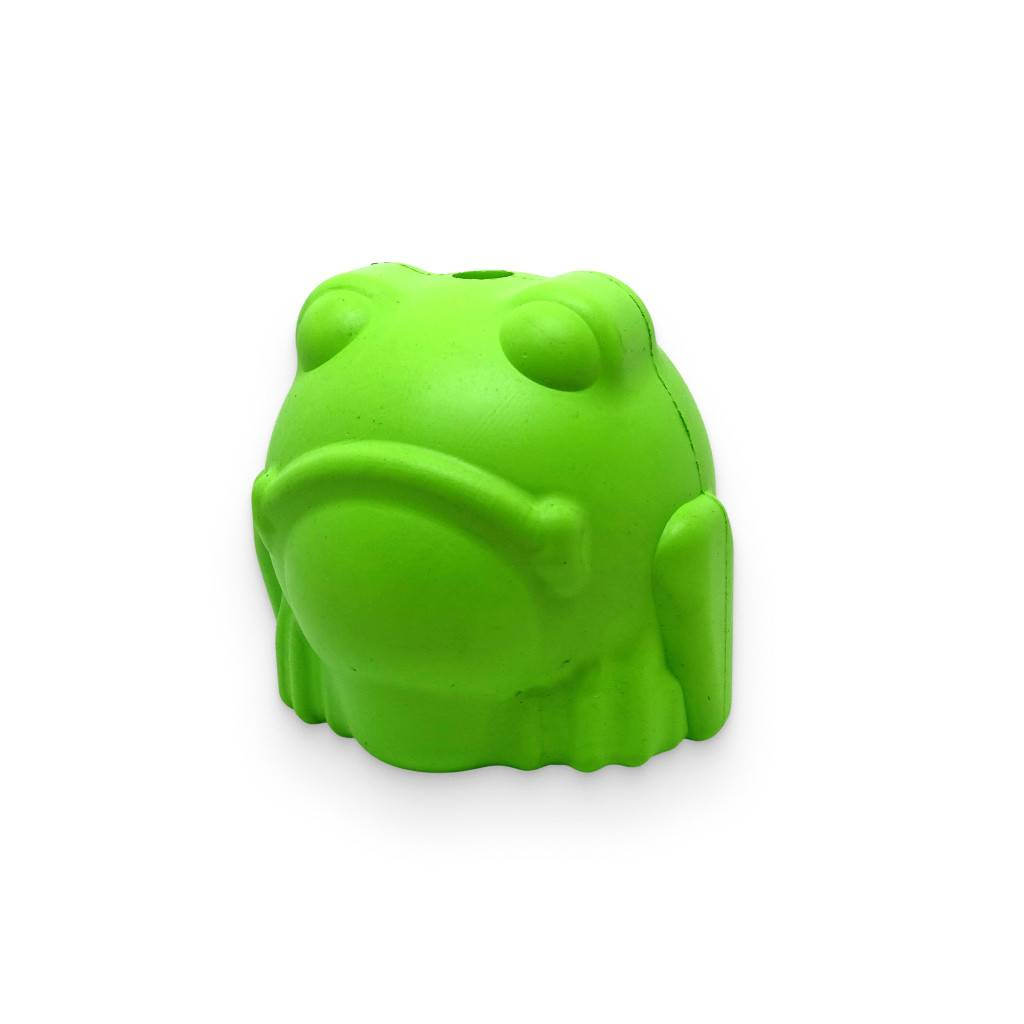 Bull Frog - Chew Toy & Treat Dispenser https://glammepet.com