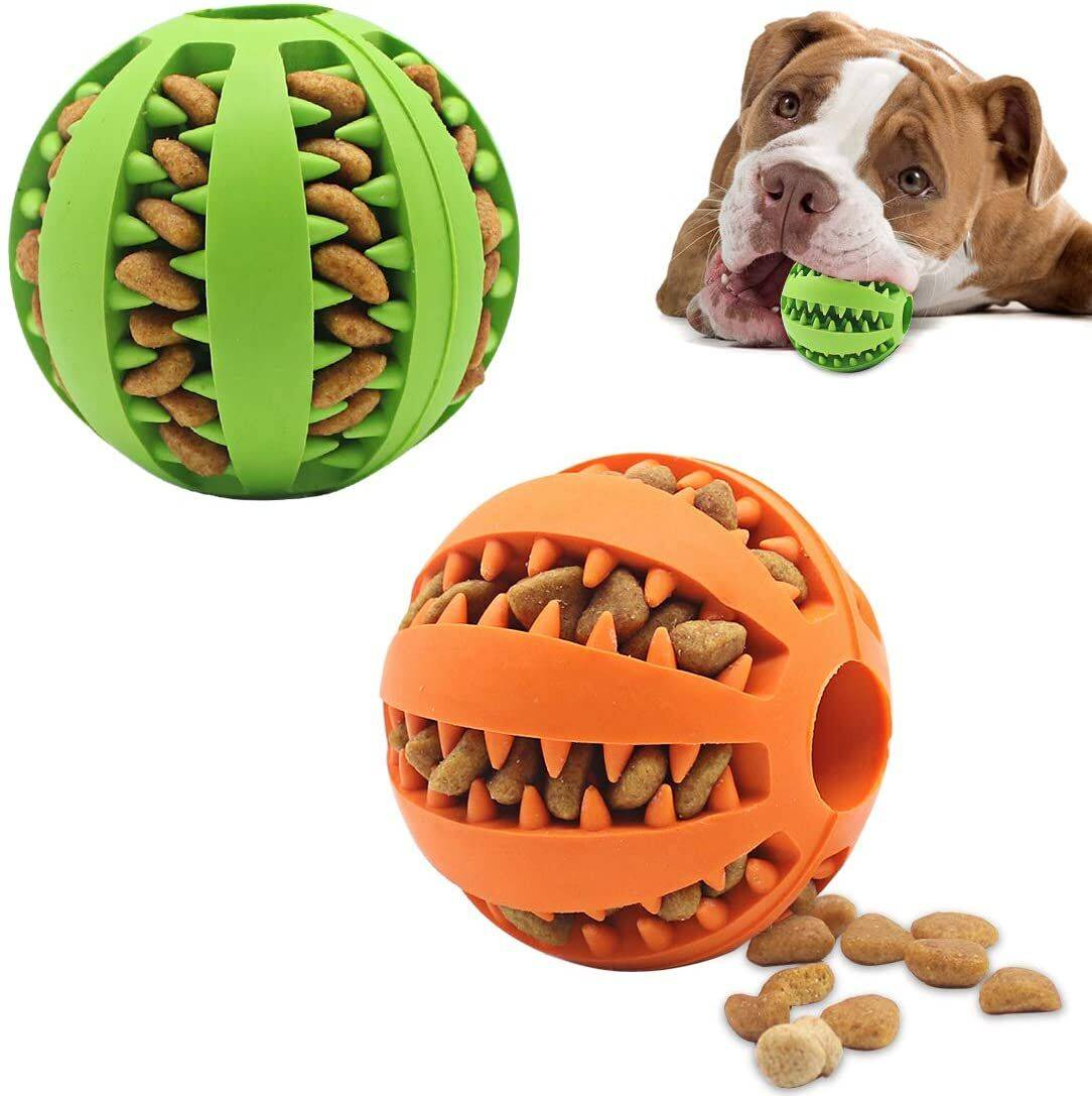 Dog Toy Feeder Ball Medium (2 inch) https://glammepet.com