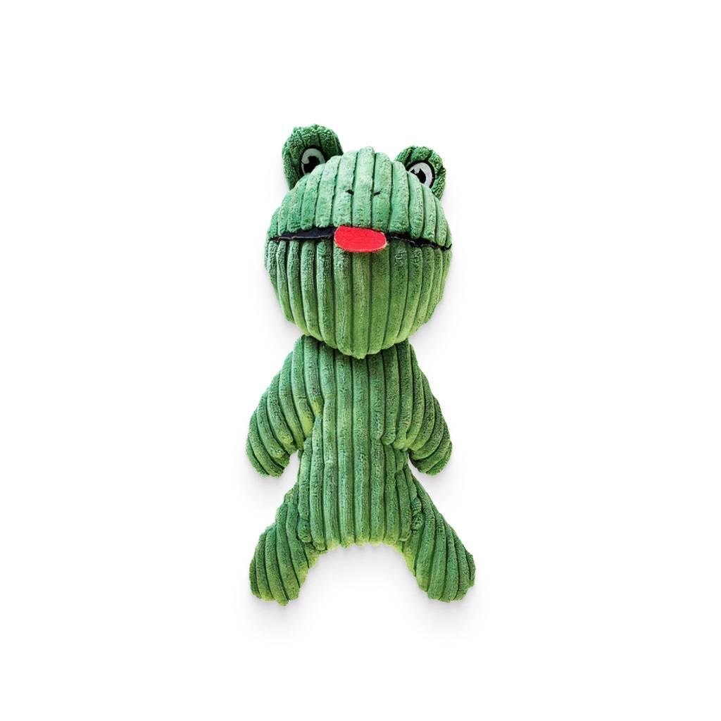 Franklin the Frog - Squeaker Plush Dog Toy https://glammepet.com