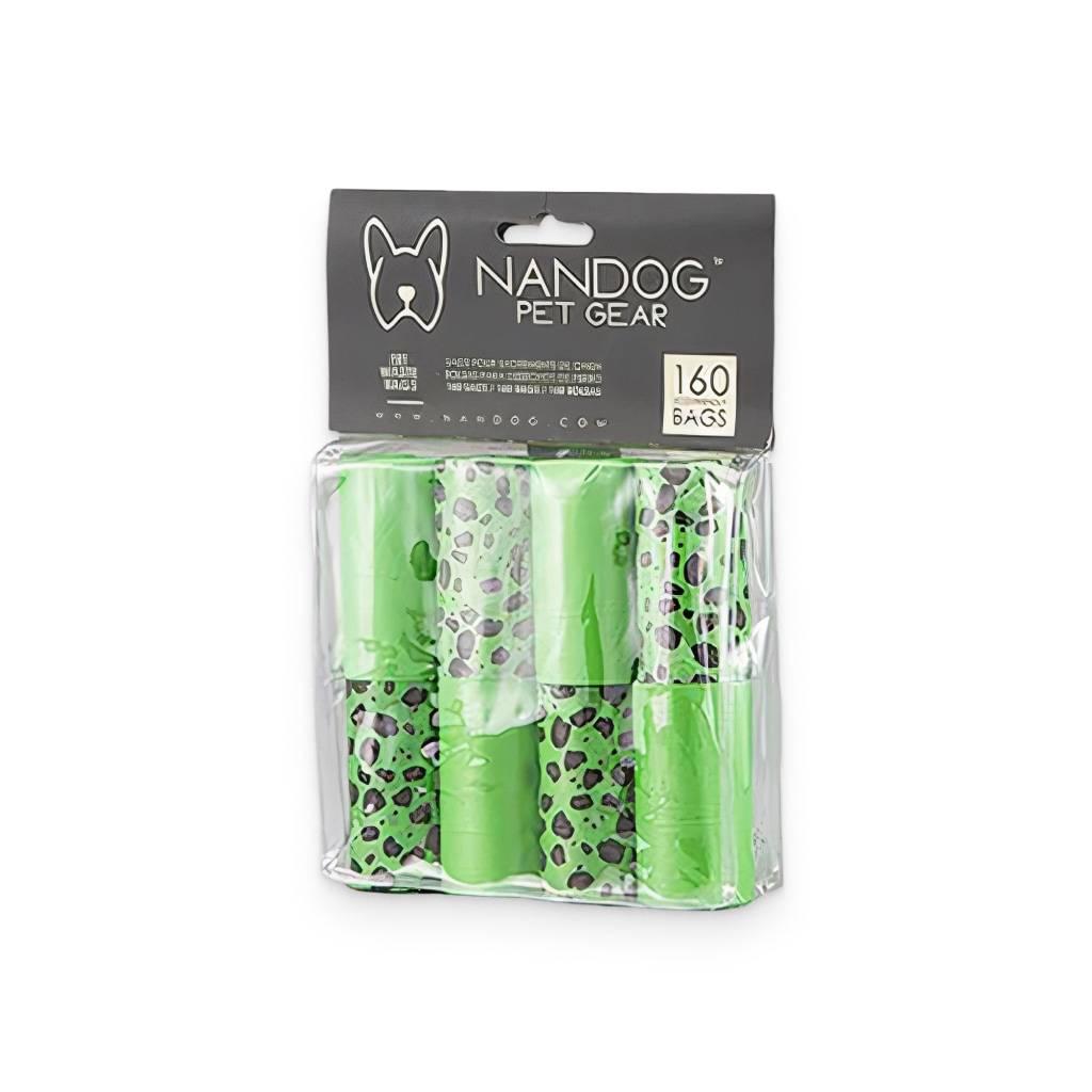Green Leopard Poop Bags https://glammepet.com