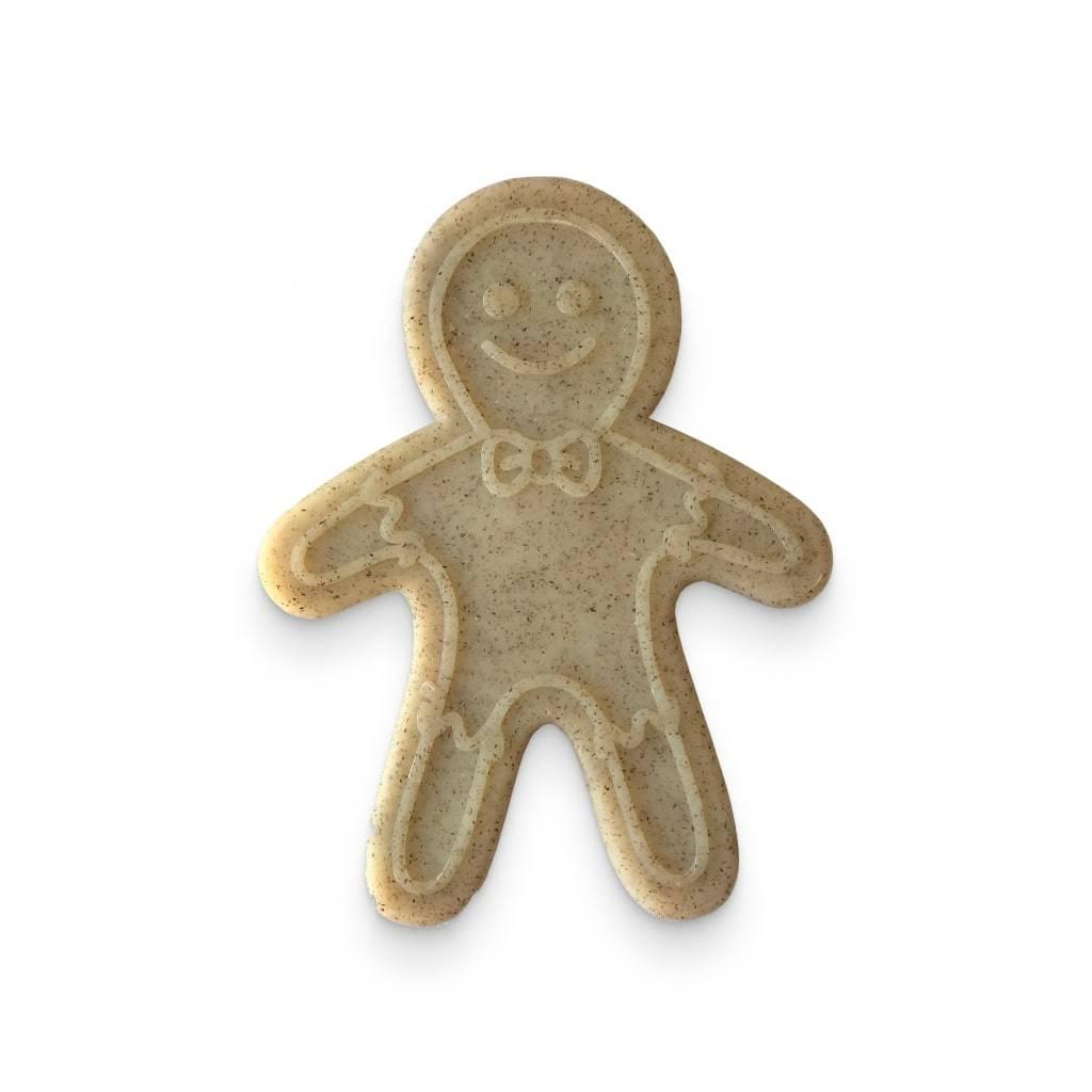 Nylon Gingerbread Man Chew Toy https://glammepet.com