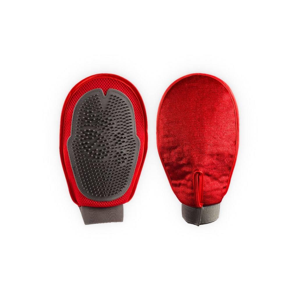 Red Grooming Glove https://glammepet.com